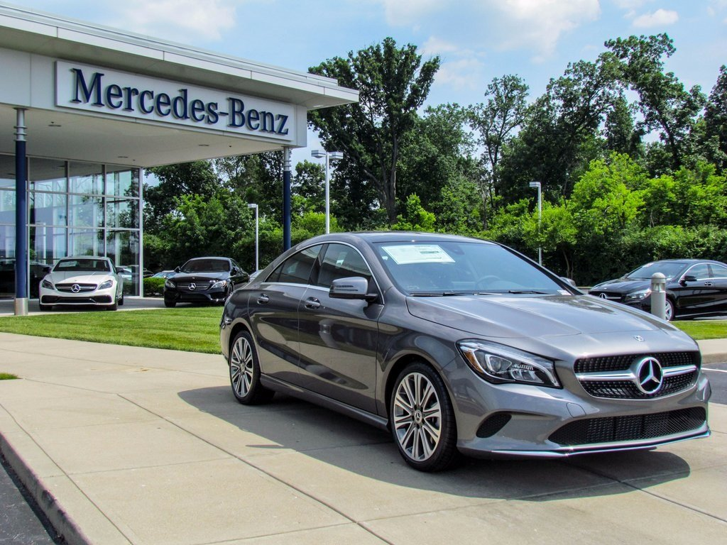 Stock w16848 new 2018 mercedes benz cla cla 250 in west for Mercedes benz financial payment address