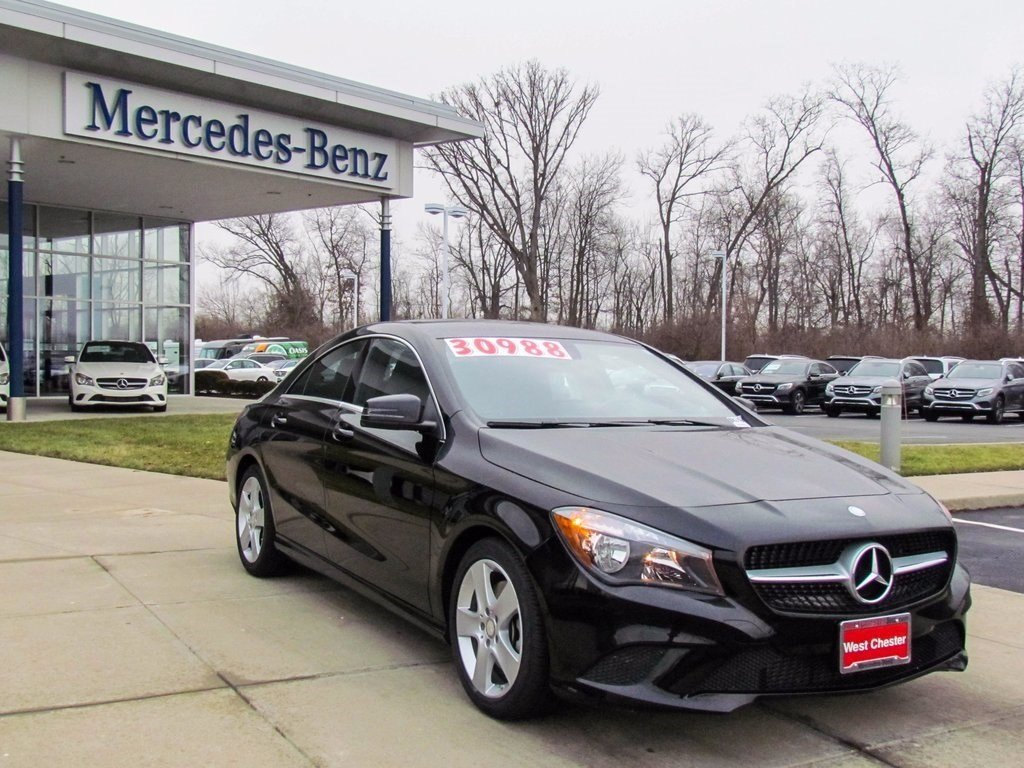 stock l2462p pre owned 2016 mercedes benz cla cla250 4matic 4 door coupe in west chester. Black Bedroom Furniture Sets. Home Design Ideas