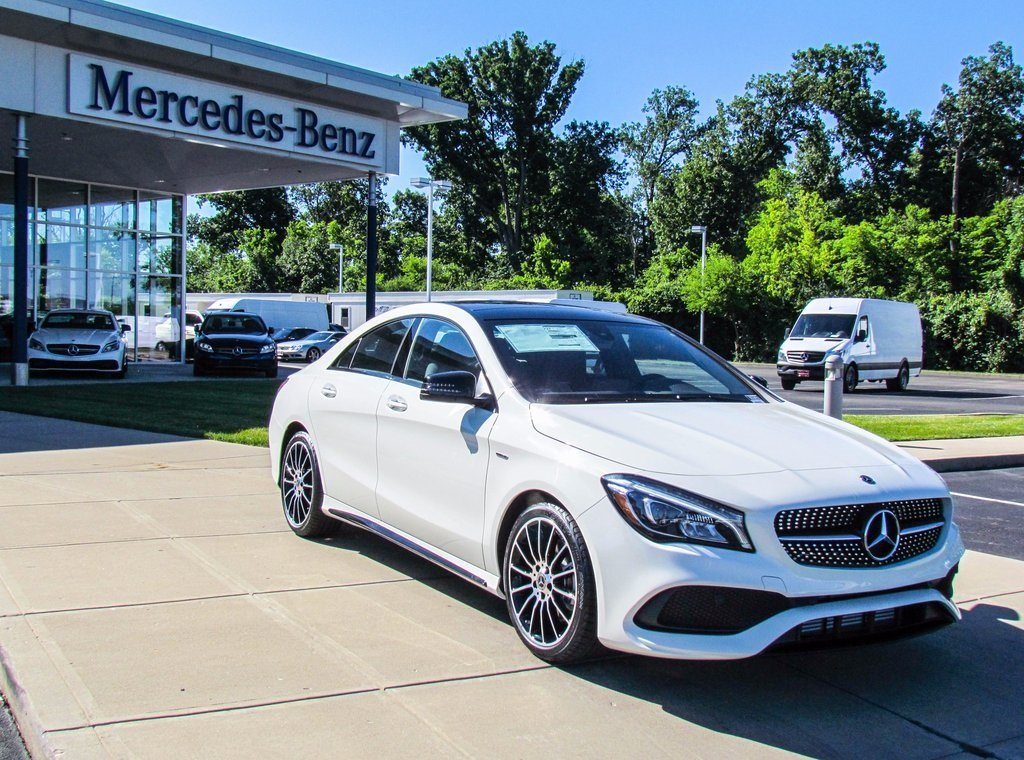 Stock w16865 new 2018 mercedes benz cla cla 250 in west for Mercedes benz westchester