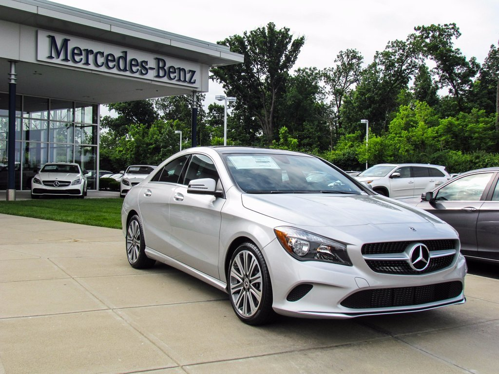 Stock w16827 new 2018 mercedes benz cla cla 250 in west for Mercedes benz cla 250 msrp