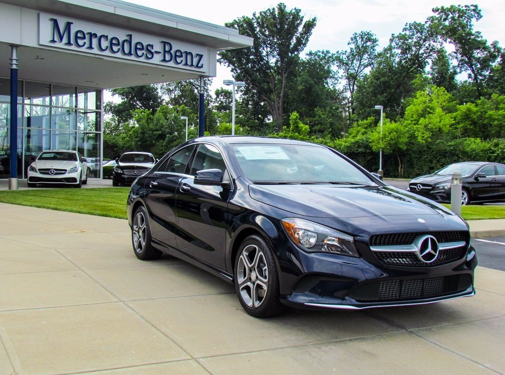 Stock w16849 new 2018 mercedes benz cla cla 250 in west for Mercedes benz financial contact number