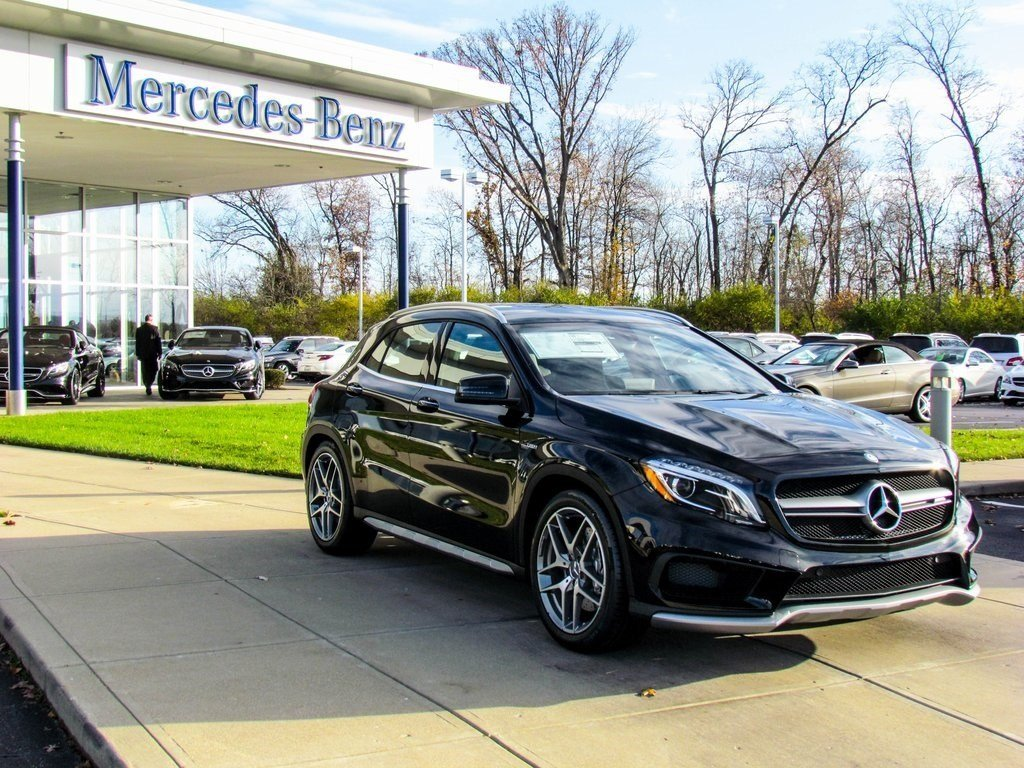 stock w16557 new 2017 mercedes benz gla gla 45 amg suv in west chester. Black Bedroom Furniture Sets. Home Design Ideas