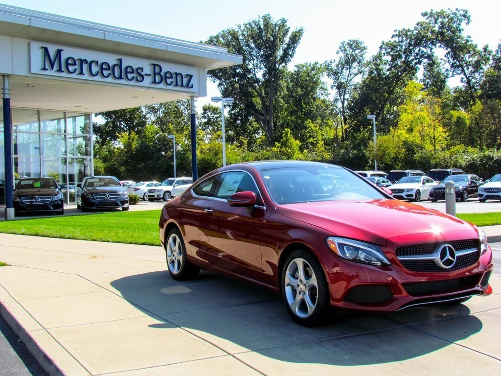 Stock w16218 new 2017 mercedes benz c class c 300 in for Mercedes benz b3 service
