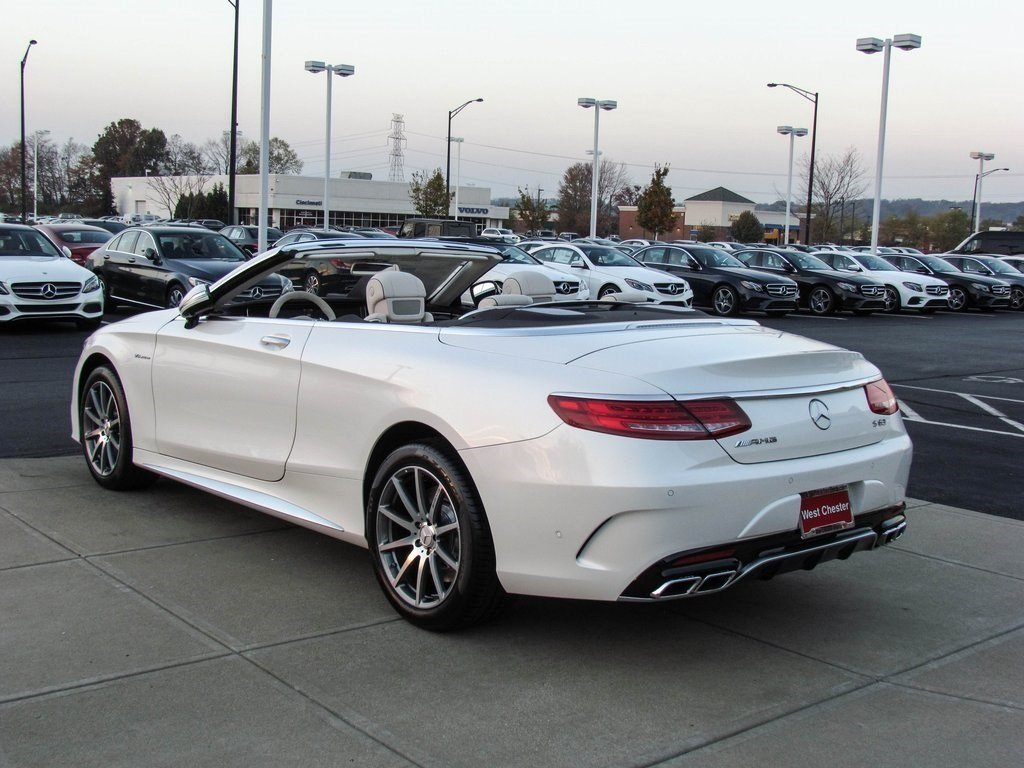 stock w16511 new 2017 mercedes benz s class s 63 amg cabriolet in west chester. Black Bedroom Furniture Sets. Home Design Ideas