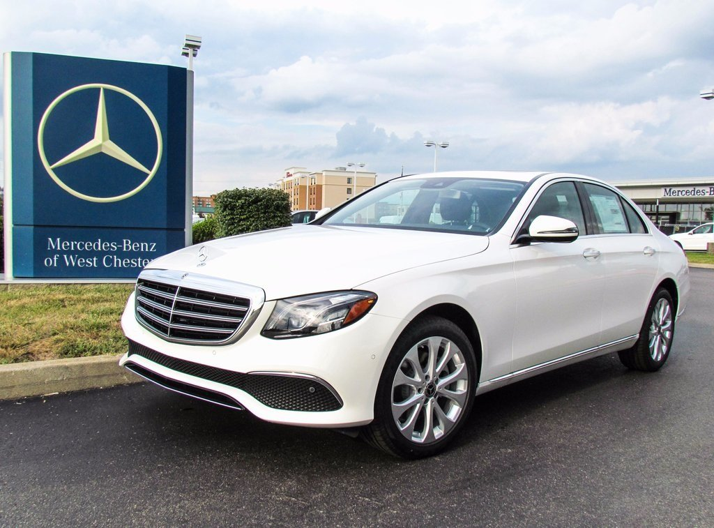 Stock w17033 new 2018 mercedes benz e class e 300 luxury for Mercedes benz financial services online payment