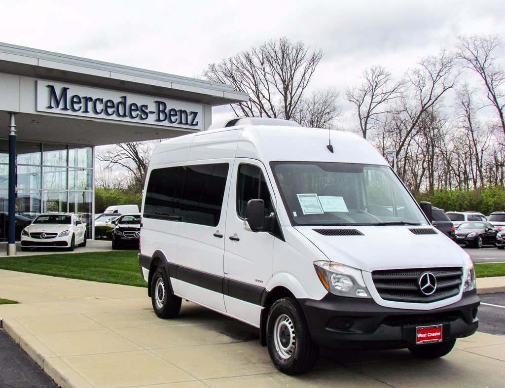 Stock v2555p pre owned 2016 mercedes benz sprinter for 7 passenger mercedes benz